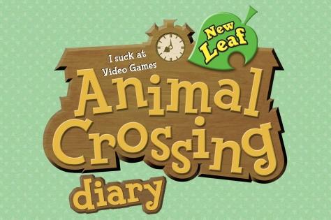 Animal Crossing Diary Logo new