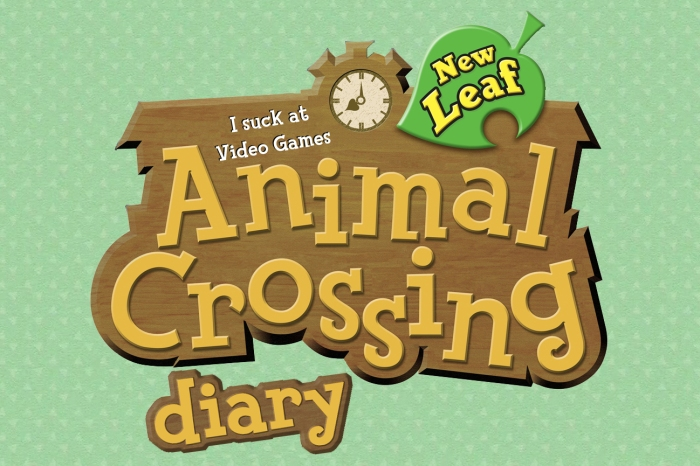 Animal Crossing Diary Logo new