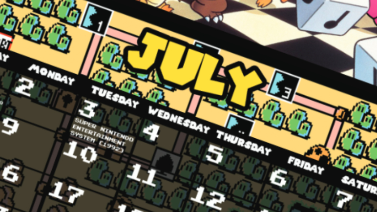 The Calendar of Mario – July